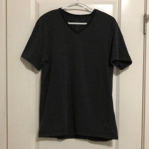 Calvin Klein T-Shirt Black Grey Stripe